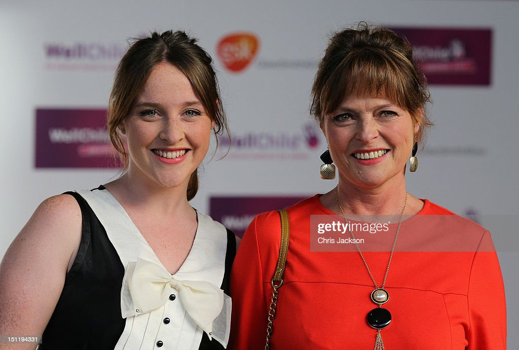 Janet Ellis (R) arrives at the WellChild Awards at the InterContinental Park Lane Hotel on September 3, 2012 in London, England.
