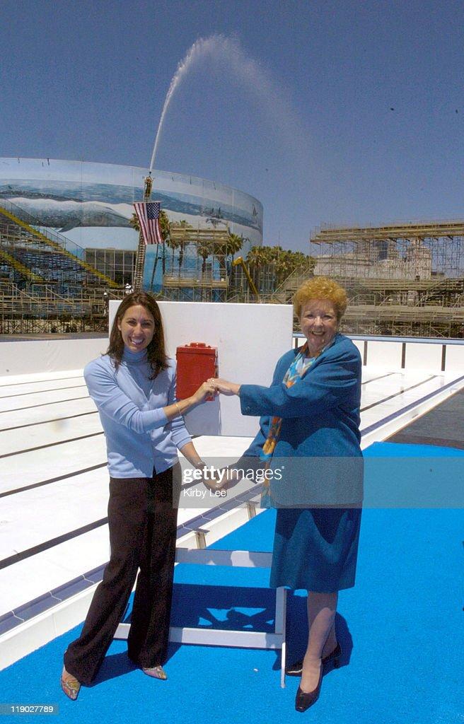 Filling of U.S. Olympic Trials Swimming Pool