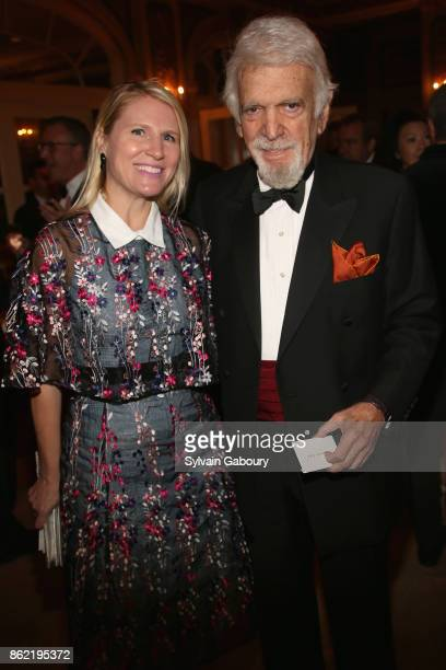 Janet Hicks and Ted Feder attend World Monuments Fund 2017 Hadrian Gala honoring Frank Stella and Deborah Lehr on October 16 2017 in New York City