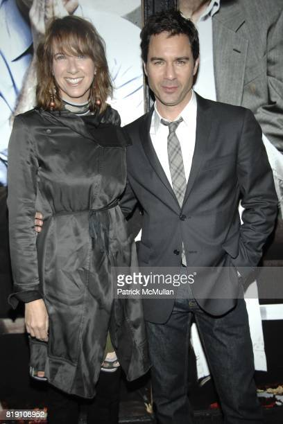 Janet Holden and Eric McCormack attend NEXT FALL Opening Night Arrivals at Helen Hayes Theatre on March 11 2010 in New York City