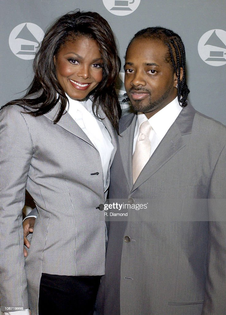 Janet Jackson and Jermaine Dupri during 2002 Atlanta Heroes Awards Presented by The Atlanta Chapter of the Recording Academy at The Westin Peachtree Plaza in Atlanta, GA, United States.