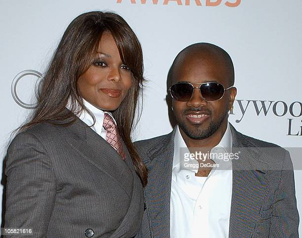 Janet Jackson and Jermaine Dupri during 2006 Hollywood Life Movieline Style Awards Arrivals at Pacific Design Center in West Hollywood California...