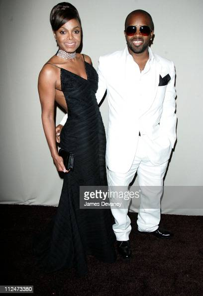 Janet Jackson and Jermaine Dupri during Antonio 'LA' Reid's 50th Birthday Party Arrivals at Nobu 57 in New York City New York United States