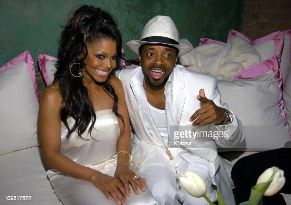 Janet Jackson and Jermaine Dupri during Virgin Records Presents 'Damita Jo' A Celebration with Janet Jackson in Honor of Her New Album Inside at...