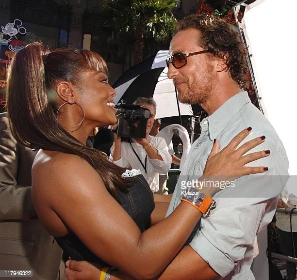 Janet Jackson and Matthew McConaughey **Exclusive**