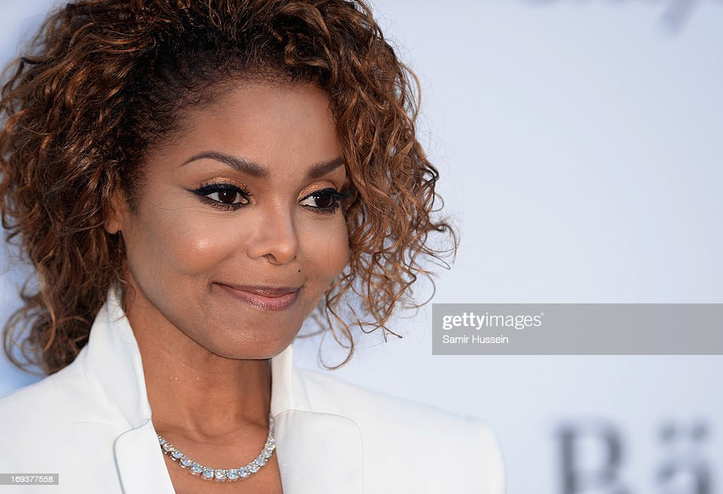 Janet Jackson attends amfAR's 20th Annual Cinema Against AIDS during The 66th Annual Cannes Film Festival at Hotel du Cap-Eden-Roc on May 23, 2013 in Cap d'Antibes, France.