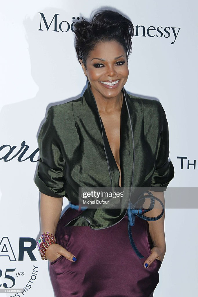 Janet Jackson attends amfAR's Cinema Against AIDS Gala during the 64th Annual Cannes Film Festival at Hotel Du Cap on May 19, 2011 in Cannes, France.