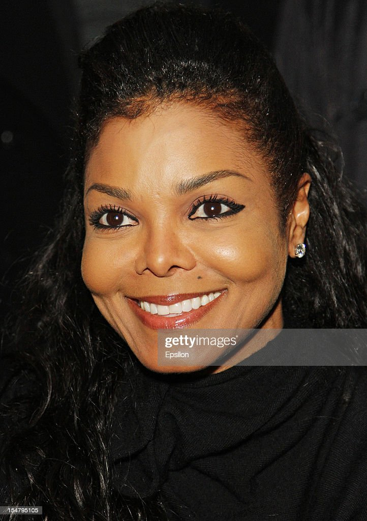 <a gi-track='captionPersonalityLinkClicked' href=/galleries/search?phrase=Janet+Jackson&family=editorial&specificpeople=156414 ng-click='$event.stopPropagation()'>Janet Jackson</a> attends Kira Plastinina's fashion show on October 25, 2012 in Moscow, Russia.