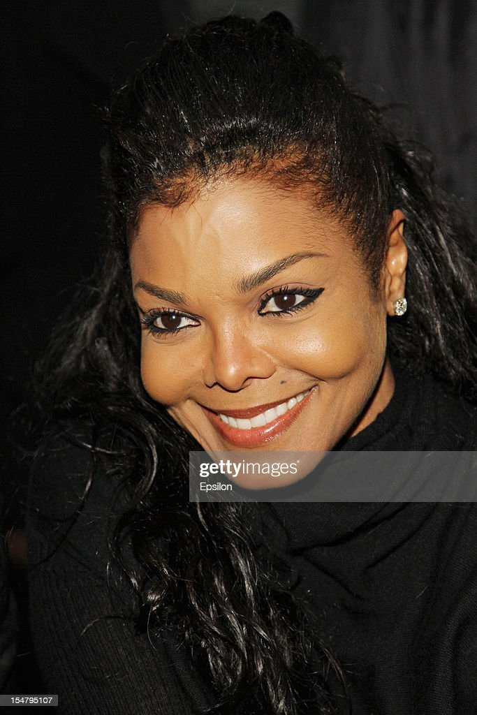 Janet Jackson attends Kira Plastinina's fashion show on October 25, 2012 in Moscow, Russia.