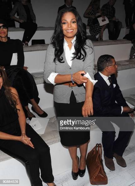 Janet Jackson attends Ralph Lauren Spring 2010 during MercedesBenz Fashion Week at Skylight Studios on September 17 2009 in New York City