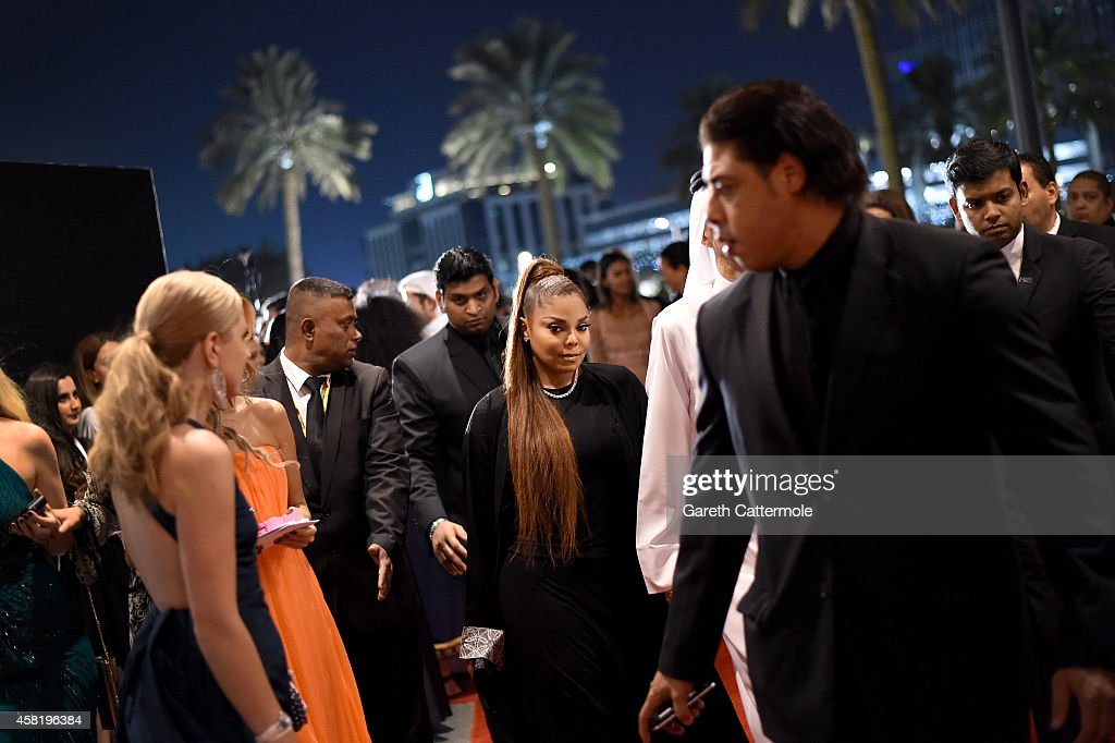 <a gi-track='captionPersonalityLinkClicked' href=/galleries/search?phrase=Janet+Jackson&family=editorial&specificpeople=156414 ng-click='$event.stopPropagation()'>Janet Jackson</a> attends the Gala Event during the Vogue Fashion Dubai Experience on October 31, 2014 in Dubai, United Arab Emirates.