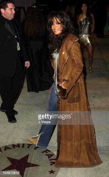 Janet Jackson during 2002 Vanity...