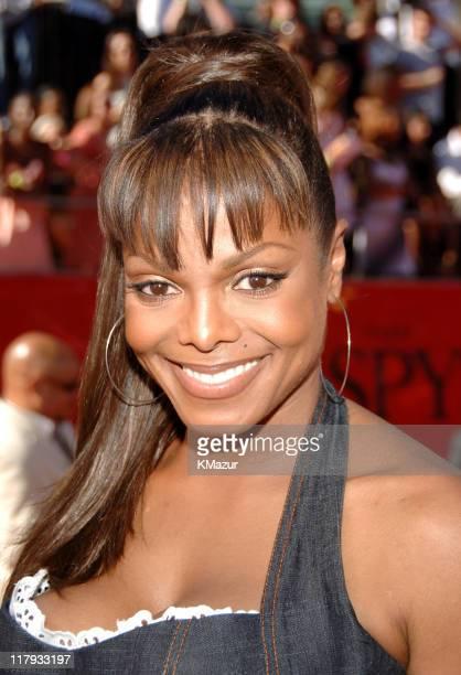Janet Jackson during 2006 ESPY Awards Red Carpet at Kodak Theatre in Los Angeles California United States