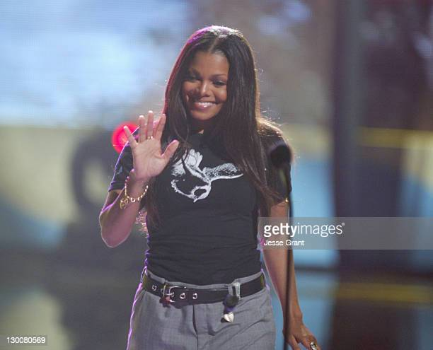 Janet Jackson during The 2004 Teen Choice Awards Show at Universal Amphitheatre in Universal City California United States