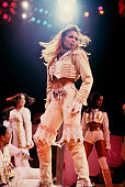 Janet Jackson performing at Madison Square Garden in New York City on December 18 1993