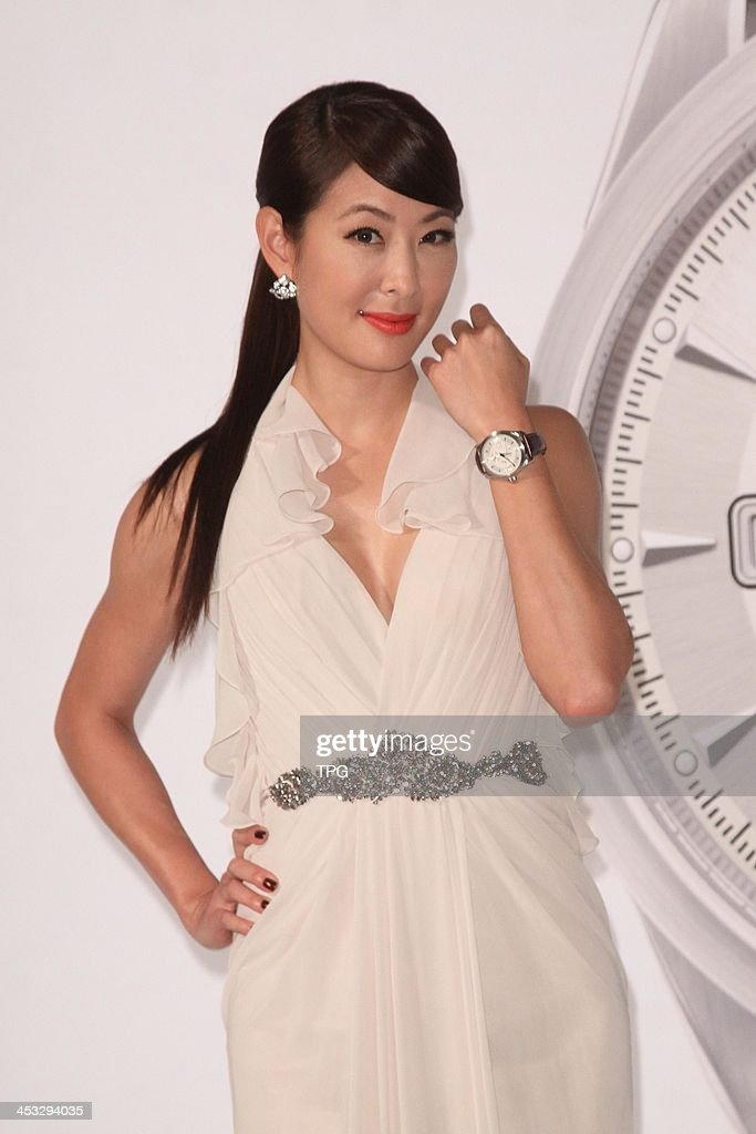 Janet Jia attends commercial activity on Monday December 2,2013 in Taipei,China.