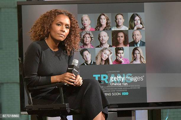 Janet Mock attends The Build Series to discuss 'The Trans List' at AOL HQ on December 1 2016 in New York City