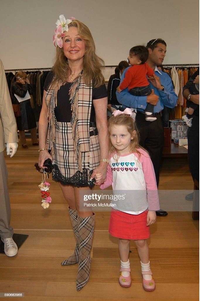 Janet Newman and Dylan Newman attend John Varvatos' 3rd Annual Stuart House Charity Benefit at John Varvatos Boutique on March 5 2005 in West...