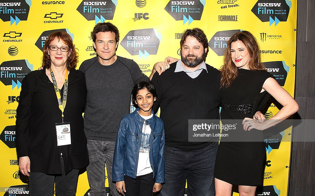 Janet Pierson, Head of SXSW Film, poses with actors Jason Bateman, Rohan Chand, Screenwriter Andrew Dodge and Actress Kathryn Hahn at the SXSW Red Carpet Screening Of Focus Features' 'Bad Words' on March 7, 2014 in Austin, Texas.