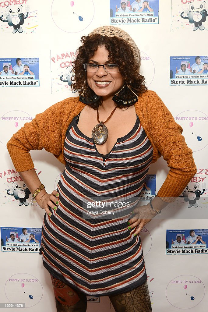 Janet Rousseau attends the 3rd Annual Paparazzi Comedy Awards Supporting Autism Awareness on April 4, 2013 in Los Angeles, California.