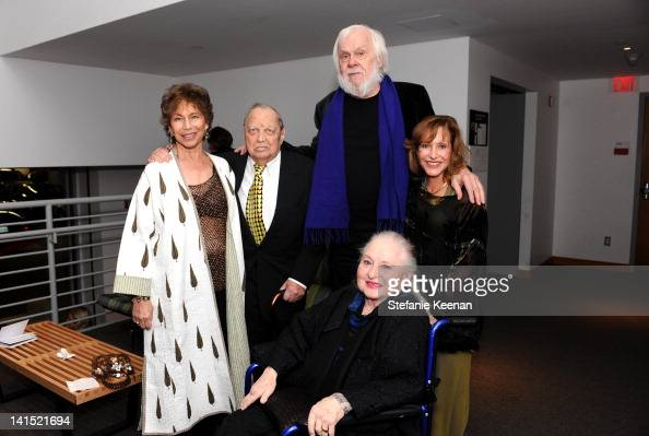 Janet Sternburg Stanley Grinstein John Baldessari Ayn Grinstein and Elyse Grinstein attend 2012 REDCAT Gala Honoring Edgar Arceneaux Elyse And...