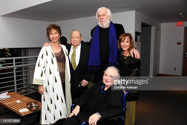 Janet Sternburg Stanley Grinstein John Baldessari Ayn Grinstein and Elyse Grinstein attend 2012 REDCAT Gala Honoring Edgar Arceneaux Elyse And...