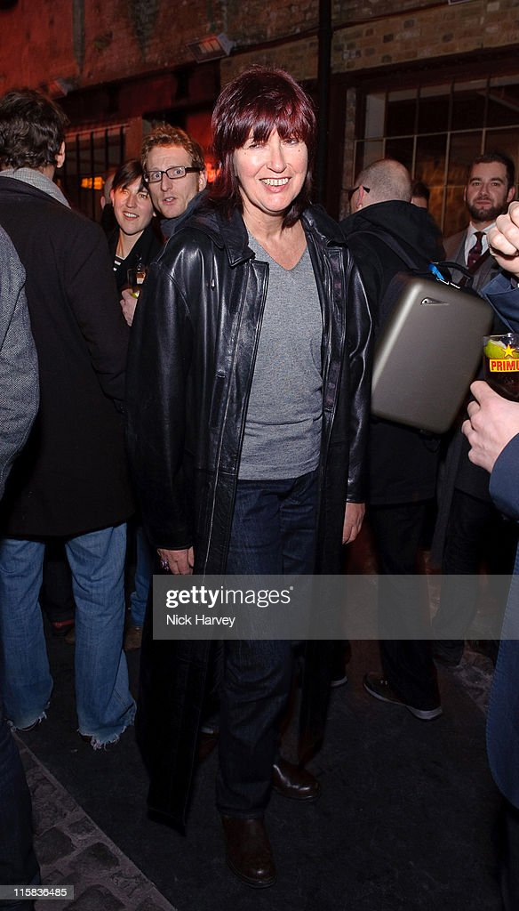 Janet Street Porter attends the Prada Congo Art Party at The Double Club on February 10, 2009 in London, England.