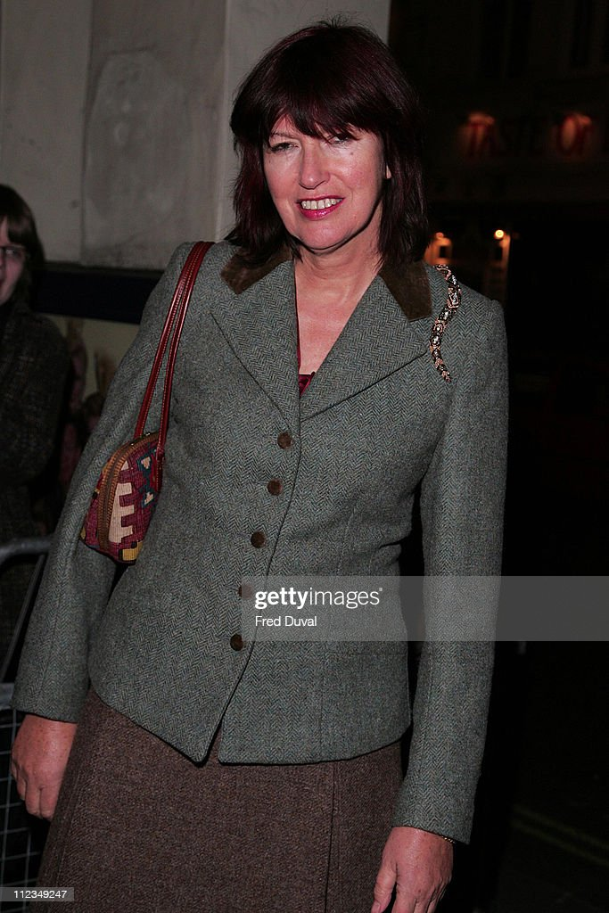 Janet Street Porter during 'An Evening for Mo and Friends' to Remember Mo Mowlam - November 20, 2005 at Theatre Royal Drury Lane in London, Great Britain.
