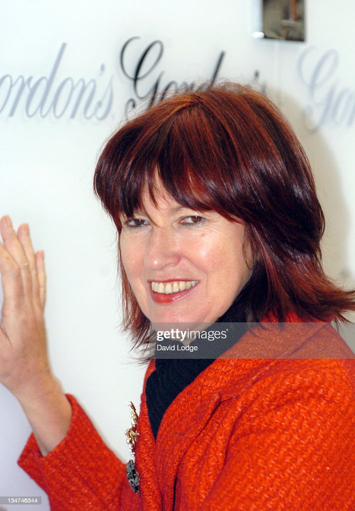 Janet Street Porter during Janet Street Porter Unveils the Gordon's Gin 'Judge for Yourself' Tour at Victoria Train Station in London, Great Britain.