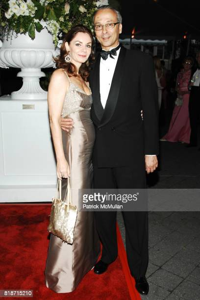 Janette Choix and Didier Choix attend THE CONSERVATORY BALL at The New York Botanical Garden on June 3 2010 in New York City