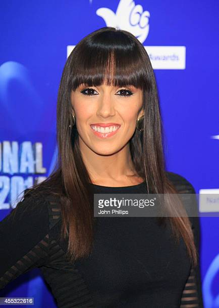 Janette Manrara attends the National Lottery Awards at Pinewood Studios on September 12 2014 in Iver Heath England