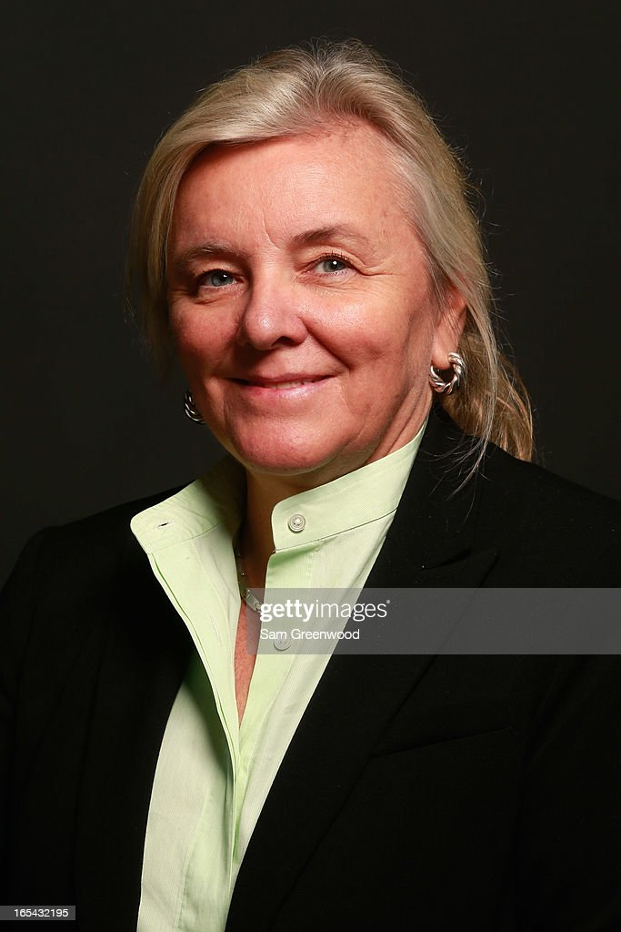 Janey Marks, Director of Strategic Alliances at Getty Images poses at the World Congress Of Sports Executive Portrait Studio on April 3, 2013 in Naples, Florida.