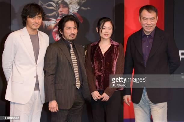 Jang DongGun Hiroyuki Sanada Chen Hong and Chen Kaige