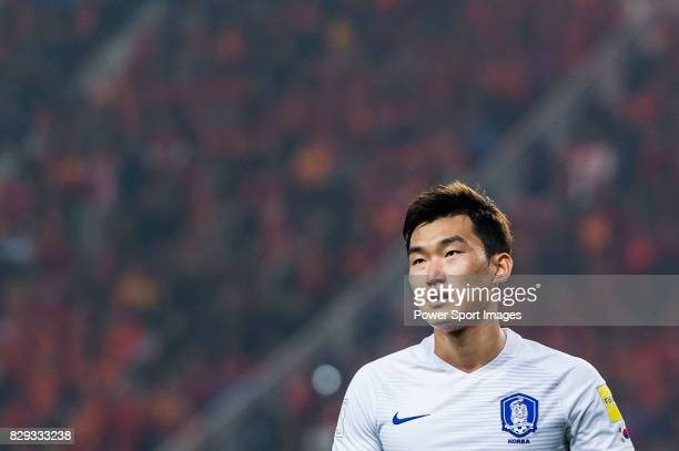 Jang Hyunsoo of Korea Republic reacts during their 2018 FIFA World Cup Russia Final Qualification Round Group A match between China PR and Korea...
