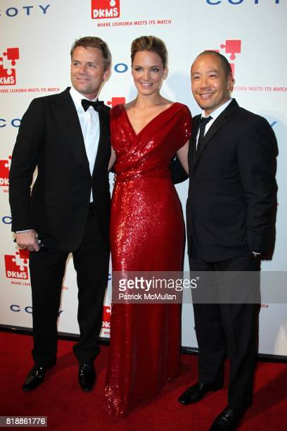 JanHendrik Schlottmann Katharina Harf and Derek Lam attend DKMS' 4th Annual Gala' LINKED AGAINST LEUKEMIA at Cipriani's 42nd St on April 29 2010 in...