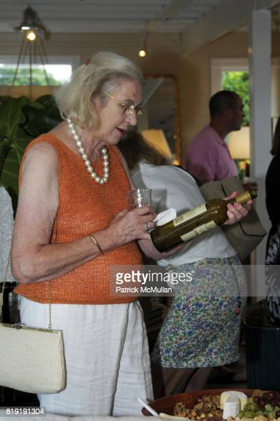 Janice CohenSharp attends Bobby McAlpine Book Signing at Mecox Gardens on July 15 2010 in Southampton NY