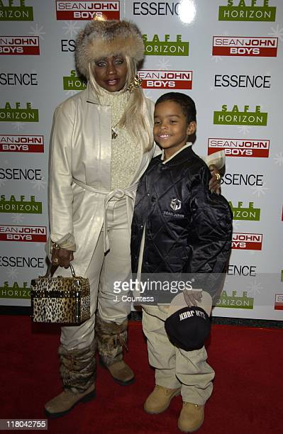 Janice Combs and Justin Combs during Sean John Boys Host 3rd Annual Skating Party to Benefit Safe Horizon at Rock Center Cafe at Rockefeller Center...
