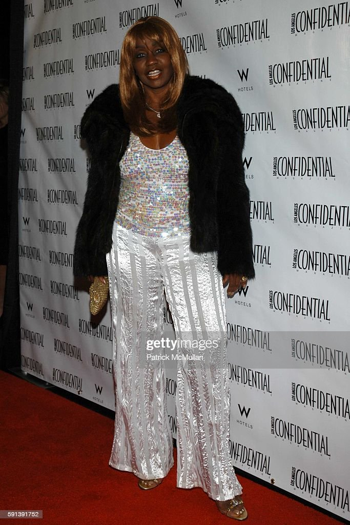 Janice Combs attends Los Angeles Confidential Magazine Pre Oscar Bash Celebrates Cover Boy Jamie Foxx sponsored by Godiva at the W Hotel Los...