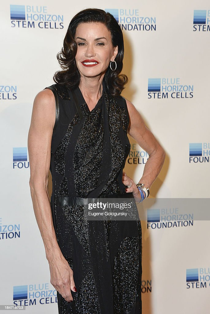 Janice Dickeinson attends the 2nd Annual Blue Horizon Foundation Gala at Guastavino's on October 15, 2013 in New York City.