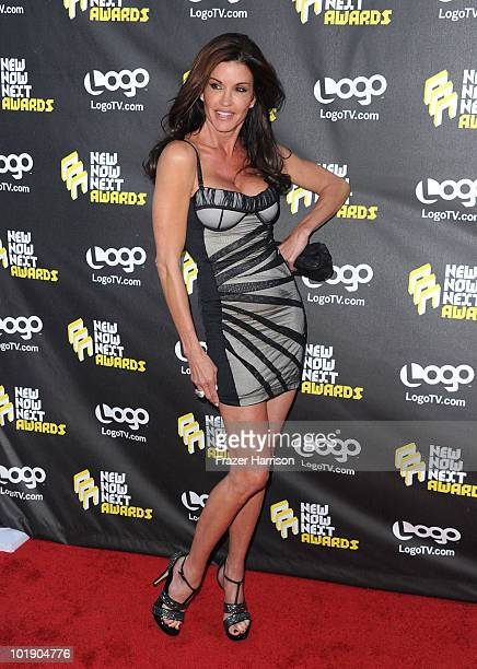 Janice Dickinson arrives at Logo's 3rd annual 'NewNowNext Awards' held at The Edison on June 8 2010 in Los Angeles California