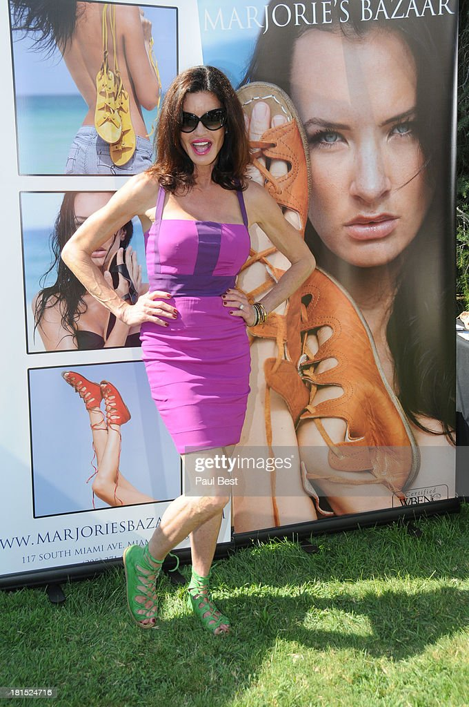 <a gi-track='captionPersonalityLinkClicked' href=/galleries/search?phrase=Janice+Dickinson&family=editorial&specificpeople=208845 ng-click='$event.stopPropagation()'>Janice Dickinson</a> attends 7th Annual Eco Emmys Empowering Women Pre-Emmys Party on September 21, 2013 in Los Angeles, California.