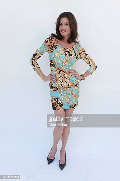 Janice Dickinson attends Majorie's Bazaar Presents 'Empowering Women In The Arts' at the Eco Emmys on September 21 2013 in Los Angeles California