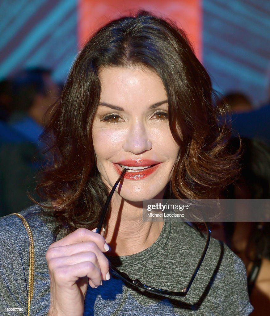 <a gi-track='captionPersonalityLinkClicked' href=/galleries/search?phrase=Janice+Dickinson&family=editorial&specificpeople=208845 ng-click='$event.stopPropagation()'>Janice Dickinson</a> attends the Custo Barcelona fashion show during Mercedes-Benz Fashion Week Spring 2014 at The Stage at Lincoln Center on September 8, 2013 in New York City.