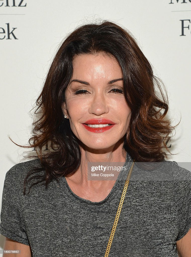 <a gi-track='captionPersonalityLinkClicked' href=/galleries/search?phrase=Janice+Dickinson&family=editorial&specificpeople=208845 ng-click='$event.stopPropagation()'>Janice Dickinson</a> attends the Mercedes-Benz Star Lounge during Mercedes-Benz Fashion Week Spring 2014 on September 8, 2013 in New York City.