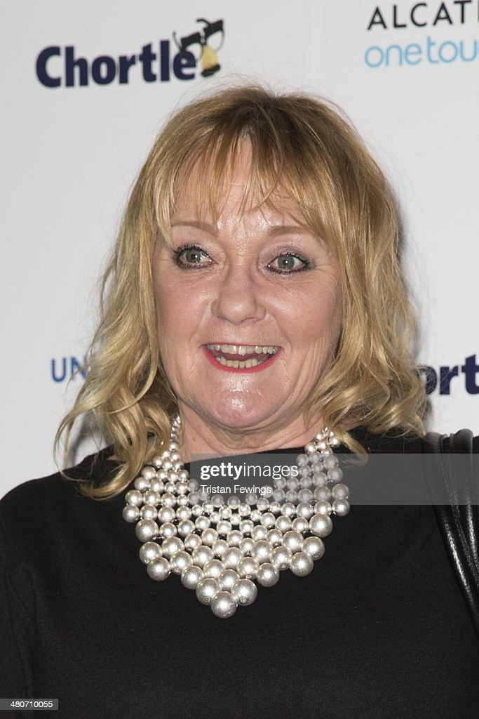 Janice Long attends the Chortle Awards at Ministry Of Sound on March 26, 2014 in London, England.
