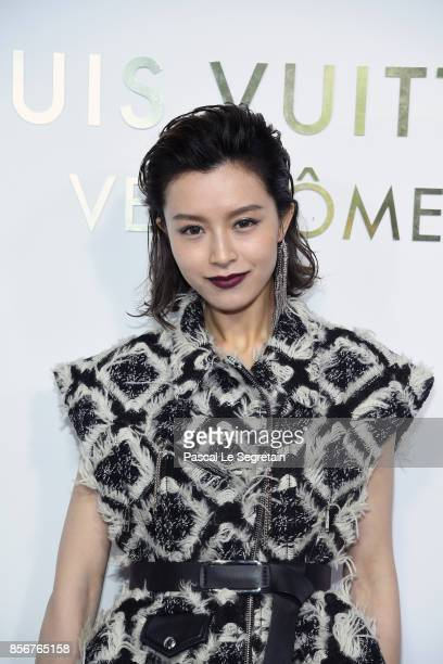 Janice Man attends the Opening Of The Louis Vuitton Boutique as part of the Paris Fashion Week Womenswear Spring/Summer 2018 on October 2 2017 in...