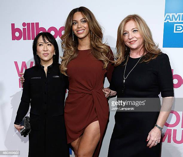 Janice Min Copresident and Chief Creative Officer of Guggenheim Media Entertainment GroupSinger Beyonce and Lee Anne CallahanLongo General Manager of...