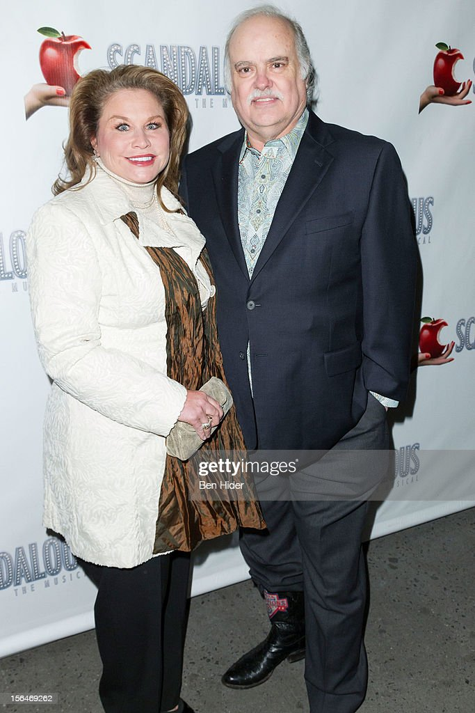 Janice Simpson and Bob Simpson, Owners of the Texas Rangers, attend the 'Scandalous' Broadway Opening Night at Neil Simon Theatre on November 15, 2012 in New York City.