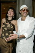 Janice Winter and Phillip Bloch during 2003 Smashbox Fashion Week Los Angeles Smashbox Kickoff Party at The Rodeo Collection in Beverly Hills...