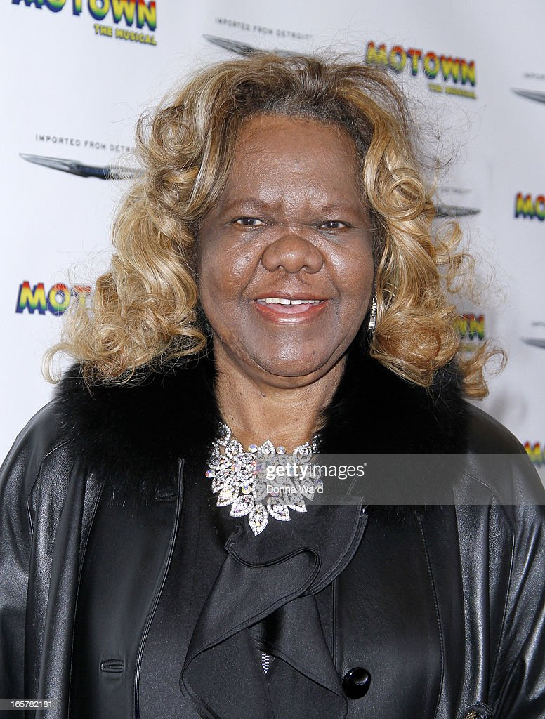 Janie Bradford attends 'Motown: The Musical' Motown Family Night at Lunt-Fontanne Theatre on April 5, 2013 in New York City.
